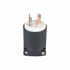 Generator Plug  U2014 30 Amp  125 Volt