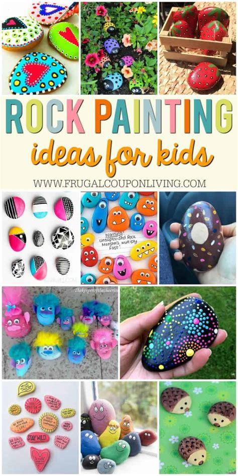 town rocks rock painting ideas