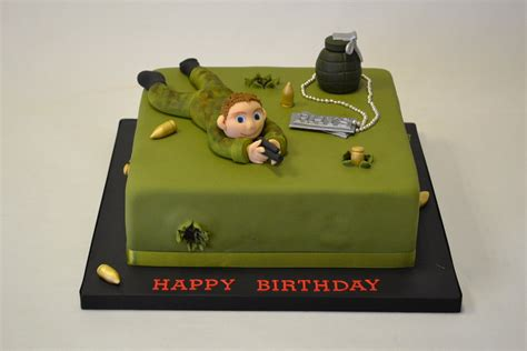 Fondant cake toppers fondant figures fondant cakes fondant cake designs cupcake fimo medical cake doctor cake catering food displays doctor fondant cake toppers. Army Cake with Model of Soldier - Boys Birthday Cakes ...