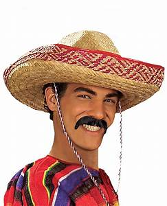 Pancho Moustache - Mexican Costumes
