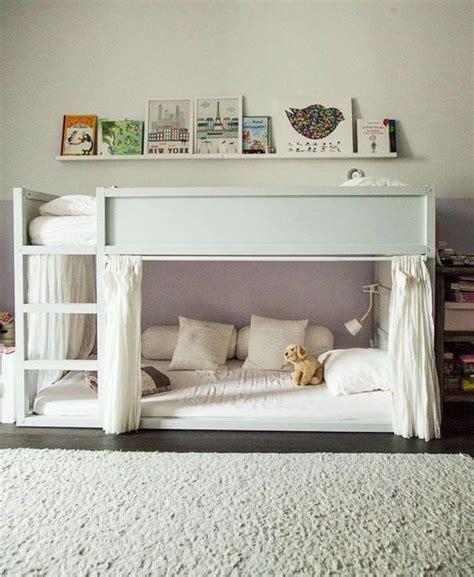 mommo design ikea kura  stylish hacks decoration pinterest lit enfant ikea chambre