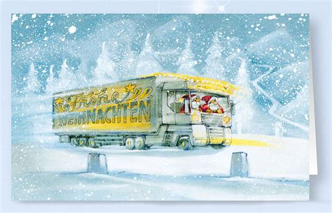 er packs weihnachtskarten alle kartende