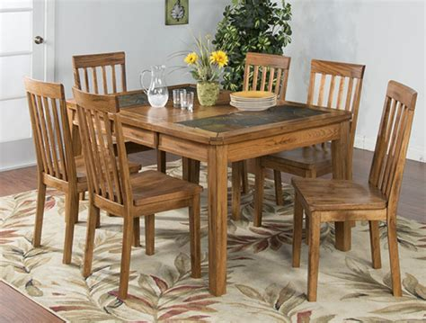 rustic oak dining table set oak table and oak dining table