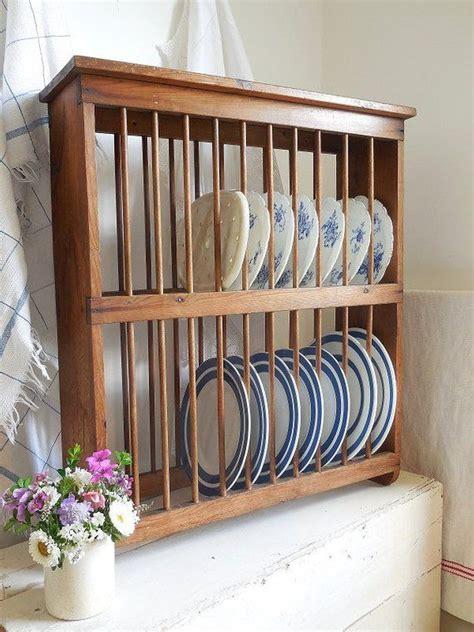 large vintage plate rack pine plate rack wooden plate rack   plate racks wooden plate