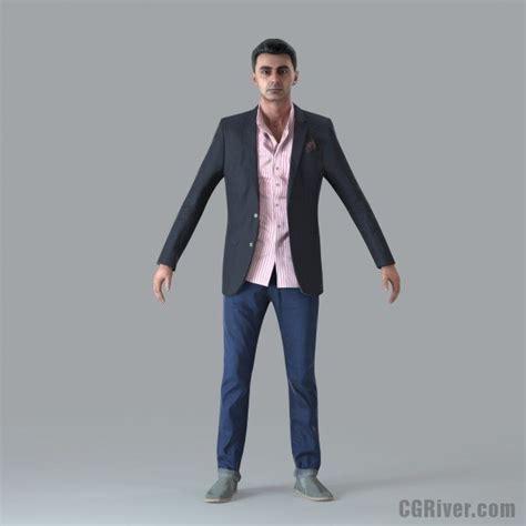 bathroom design software free casual rigged 3d human model cman0017m4 cgriver