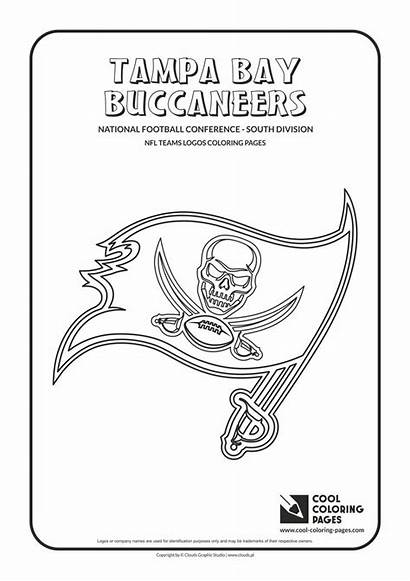 Nfl Coloring Football Pages Logos Buccaneers Tampa