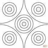 Coloring Pages Mandala Circle Dot Printable Paper Puzzle Drawing sketch template