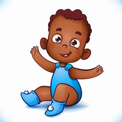 African American Vector Boy Child Clip Clipart