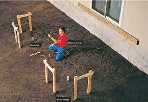 Flashing Deck Ledger by Handyman How 2 How To Build A Deck Part 1 Framing