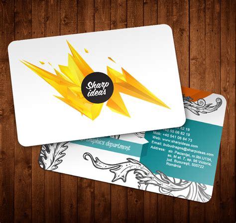 creative   beautiful business card design examples