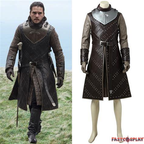 Game Of Thrones Season 7 Jon Snow Cosplay Costume Deluxe