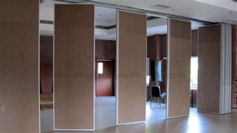 sliding folding partitions movable walls youtube