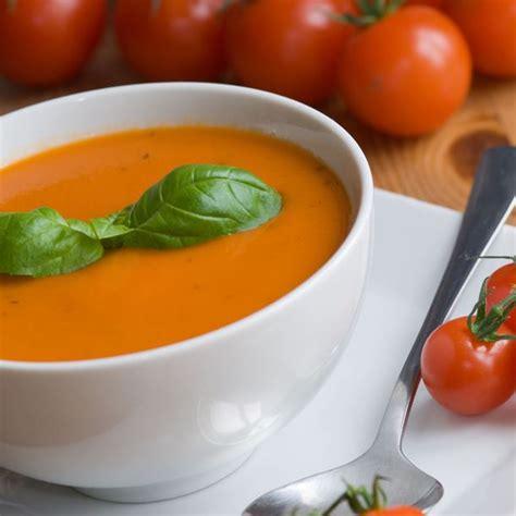 cuisiner simple et rapide recette soupe à la tomate rapide