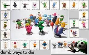 Dumb ways to die : The sculpey project by Shlapocalypse on ...