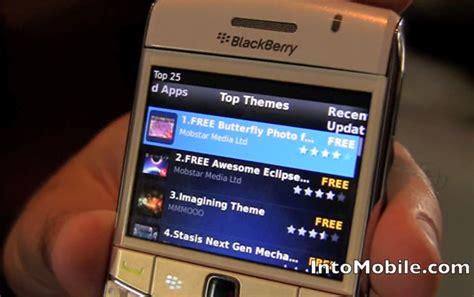 video blackberry app world  walkthrough