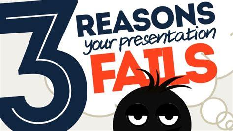 3 Reasons Your Presentation Fails! #presentationtips