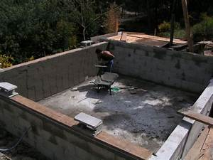 la construction de piscine a debordement guide de With construire sa piscine en beton