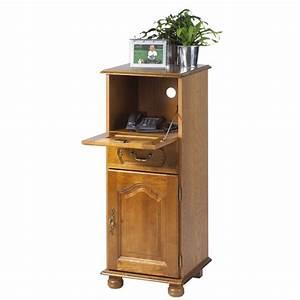 Petit Meuble Téléphone : meuble entree telephone ~ Teatrodelosmanantiales.com Idées de Décoration