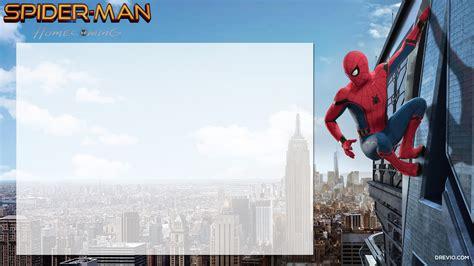 printable spiderman homecoming birthday invitation