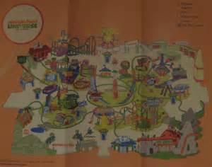 Nickelodeon Universe Mall of America Map