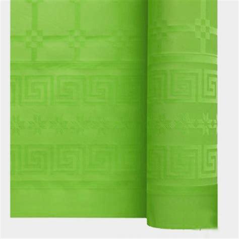 nappe papier damass 233 unie vert pomme achat vente d 233 co table pas cher