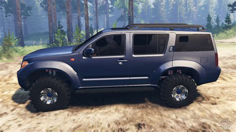 nissan pathfinder r51 for spin tires
