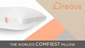 The oreoustm pillow by mark reissi kickstarter for Comfiest pillow in the world