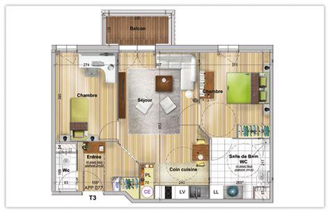 appartement a louer 3 chambres votre appartement dans une montana du studio au 3 pièces