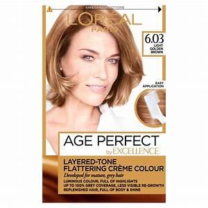 Age Perfect Hair Colour Chart L 39 Oreal Paris Excellence Age Perfect Hair Colour 6 03