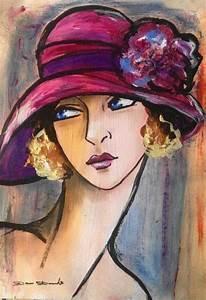 Peinture Visage Femme : les 25 meilleures id es de la cat gorie portrait de femme sur pinterest photographie de visage ~ Melissatoandfro.com Idées de Décoration