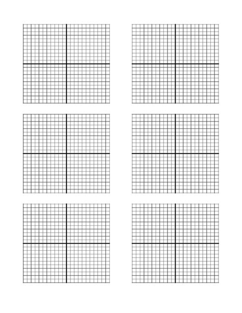 axis graph paper template
