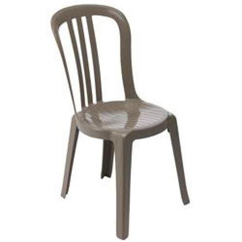 chaise miami grosfillex chaise miami bistrot taupe achat vente chaise