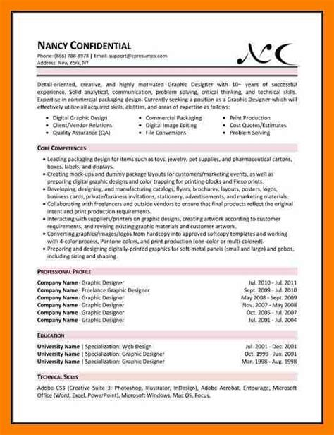 Skills In Resume Exle by Skills Based Resume Exle 28 Images 6 Skills Based