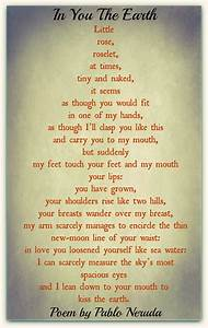 Pablo, Neruda, Poems