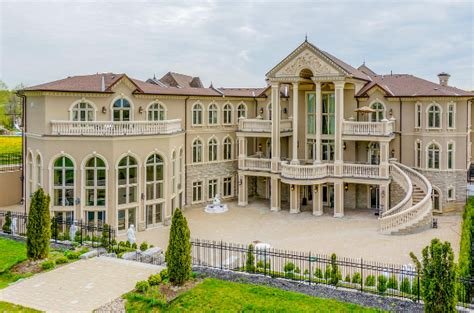 home design exterior app stately ornate 24 000 square mega mansion in canada