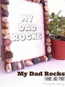 Tot School Tuesday: My Dad Rocks {frame & print   Mine for ...
