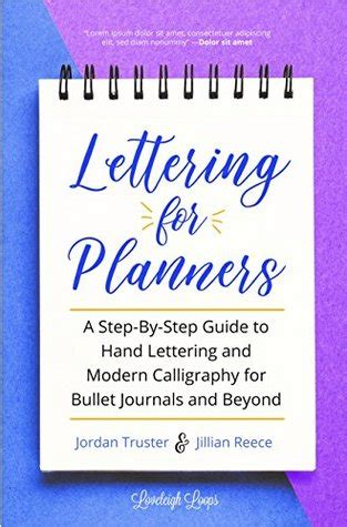 lettering  planners  step  step guide  hand lettering  modern calligraphy  bullet