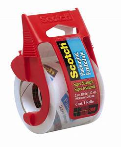 Scotch Heavy Duty Shipping Packaging Tape  1 88 In X 800