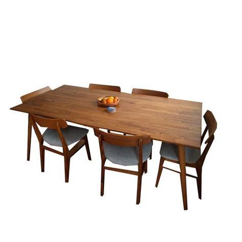 Habitat Danish 70s Style Large Brown Wood Dining Table £
