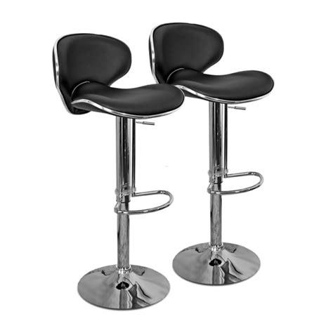 chaise de bar chaise de bar et design cobra set de 2 design