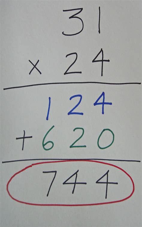 Val's Corner Multiplying 2 Digit Numbers