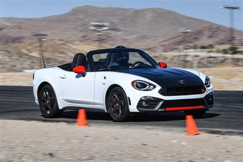 2019 Fiat 124 Spider Abarth First Drive Review Digital