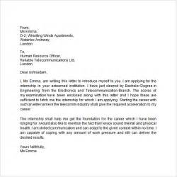 Letter Of Introduction Resume Exles by Sle Letter Of Introduction Crna Cover Letter