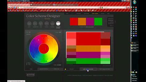 color scheme designer youtube