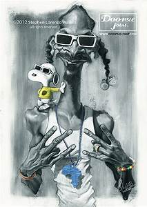 Caricatura de Snoop Dogg y Snoopy. | Music | Pinterest ...