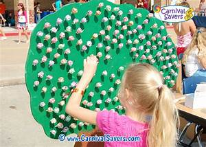 Carnival Game and Booth Ideas - Lollipop Tree Carnival Game