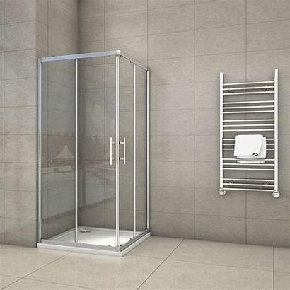 Shower Entry Corner Door Wet Sliding Walk
