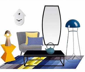 Tapis Jaune Et Bleu : des soldes en jaune et bleu mademoiselle d co blog d co ~ Dailycaller-alerts.com Idées de Décoration