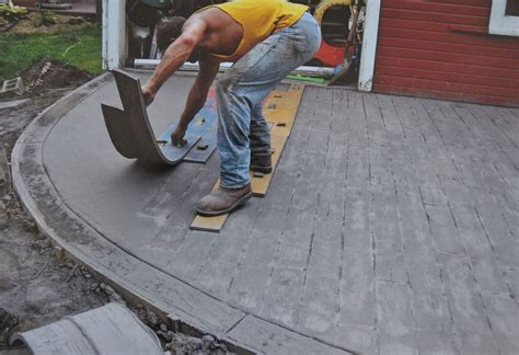 walttools weatherwood plank concrete stamp set  pc