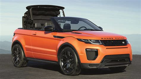 Land Rover Car : 2016 Range Rover Evoque Convertible